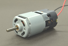 Compact DC brush motors and geared motors